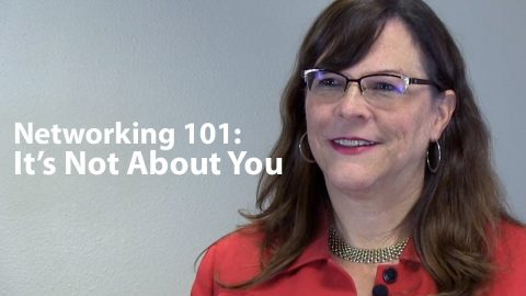 Networking 101: It's Not About You