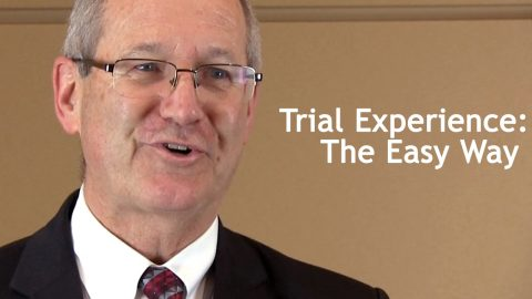 Trial Experience: The Easy Way