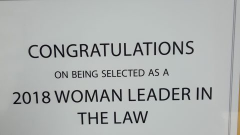Janet L. Heins named 2018 Woman Leader in the Law