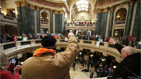 Wisconsin 'Right-To-Work' Law Upheld
