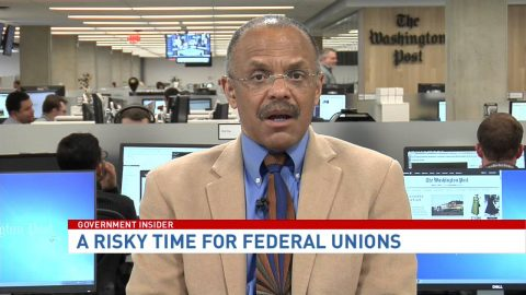 Risky time for federal workers' unions